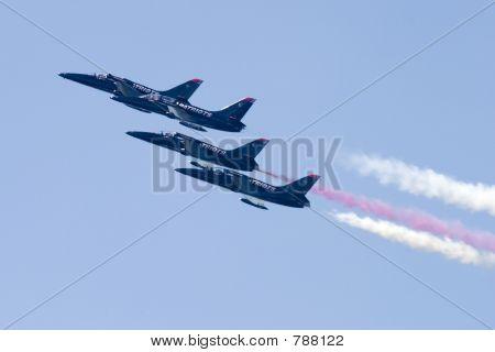 vier Patriot jets