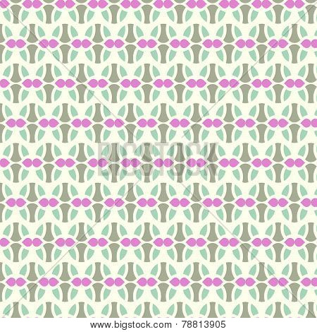Dark Blue Sweet Easter Eggs Pattern On Pastel Background