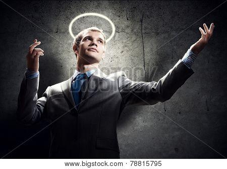 Saint businessman