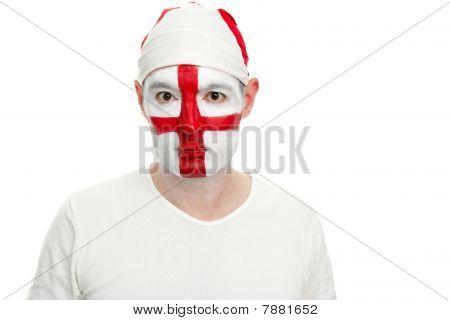 England Fan Facing