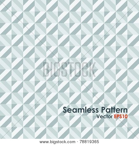 Gray Abstract Rectangle Seamless Pattern