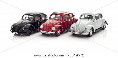3 Vw Beetles