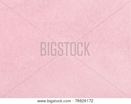 Background From Sheet Of Pink Blotting Paper