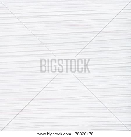 Square Background From White Corrugated Paper