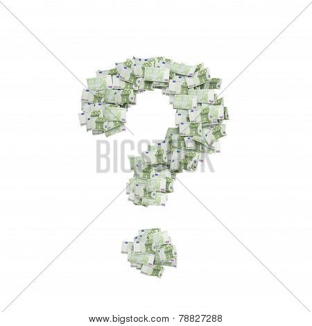 Euro In Form Question Mark