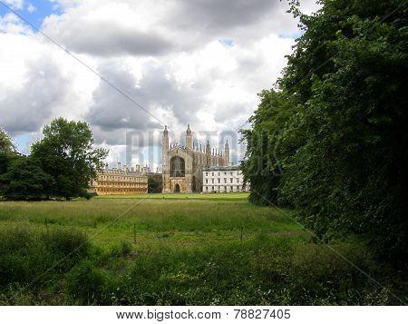 The Backs in Cambridge, UK