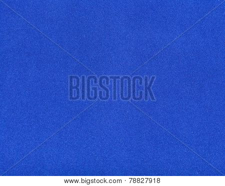 Background From Dark Blue Color Velvet Paper