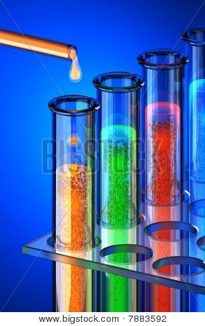Chemistry Of The Future. Chemical Reagents.