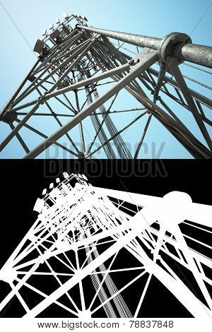 High Telecommunications Tower
