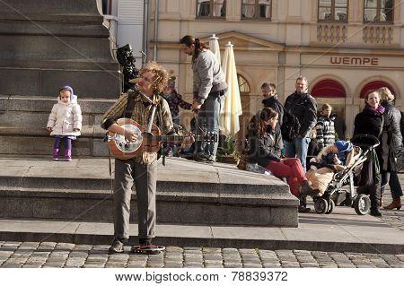 Unidentified Street Musician