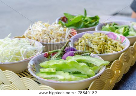 Fresh Vegetable In Bowl