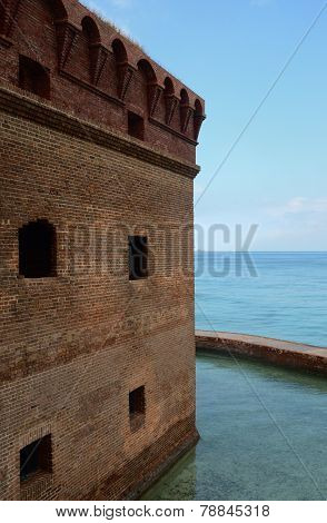 Side of Dry Tortugas