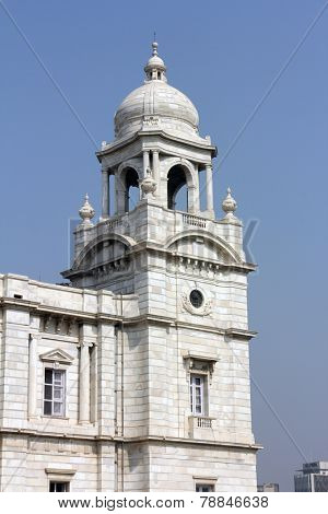 KOLKATA,INDIA - NOVEMBER 27: Victoria Memorial building in Kolkata, West Bengal, India on November 27, 2012.