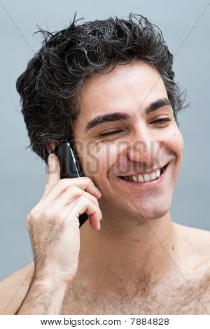 Talking On The Cell Phone
