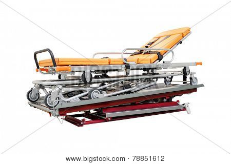 stretcher under the white background