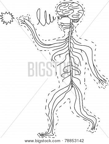 Abstract Human Sensory Organs