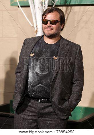 LOS ANGELES - DEC 09:  Jack Black  arrives to the