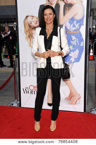 LOS ANGELES - APR 21:  Mimi Rogers arrives to the The Bridge