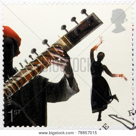 Bollywood Dance Stamp