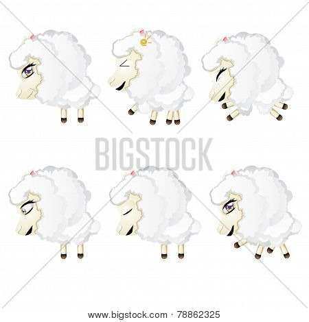Cute Chibi Sheep
