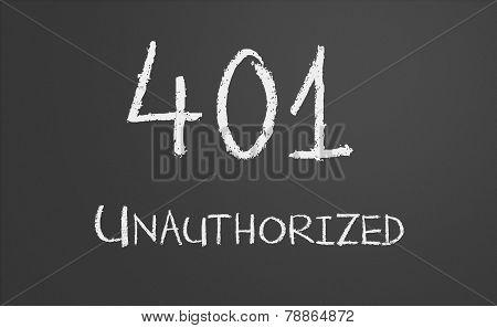 Http Status Code 401 Unauthorized