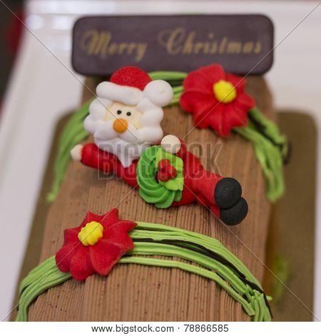 Chrismas Log Cake