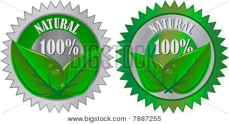 Natural Eco product label