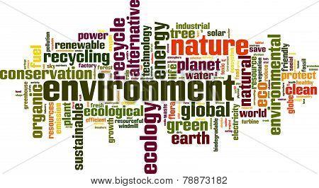 Environment Word Cloud