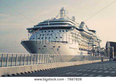 Passenger Transatlantic Cruise Liner