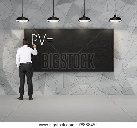 Businessman Drawing Pv