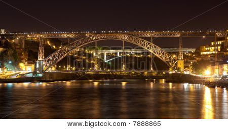 Bridge Of Don Luis I In Porto
