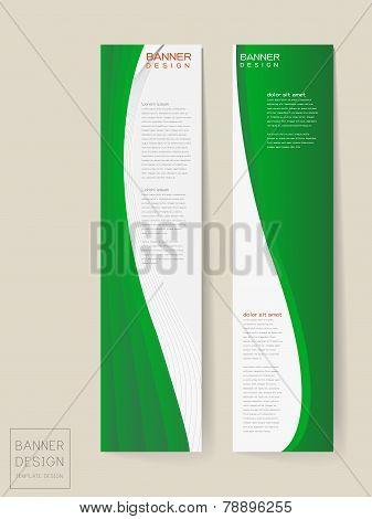 Banner Design Templates Set