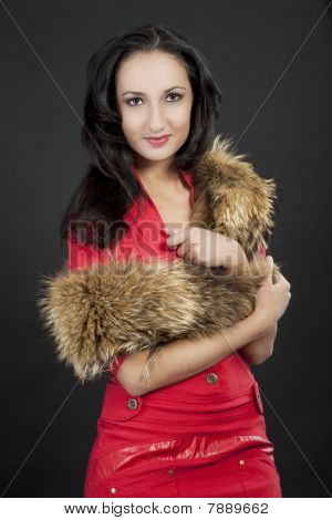 Girl With Long Tailed Fur