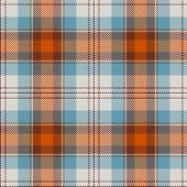 stock photo of tartan plaid  - Textured tartan plaid - JPG