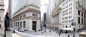 New York City Wall Street Panorama