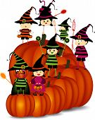 foto of antichrist  - decoration element halloween for background and card - JPG