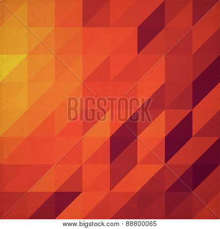 Triangle Paper Background