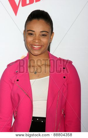 LOS ANGELES - April 23:  Koryn Hawthorne at the