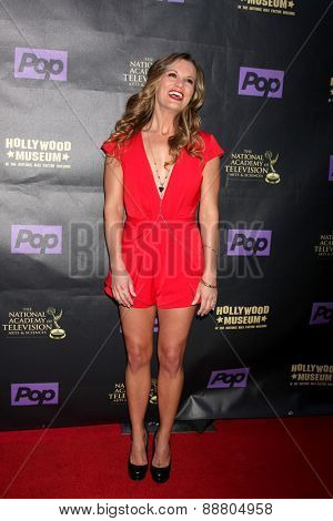 LOS ANGELES - April 21:  Melissa Clare Egan at the  2015 Daytime EMMY Awards Kick-off Party at the Hollywood Museum on April 21, 2015 in Hollywood, CA