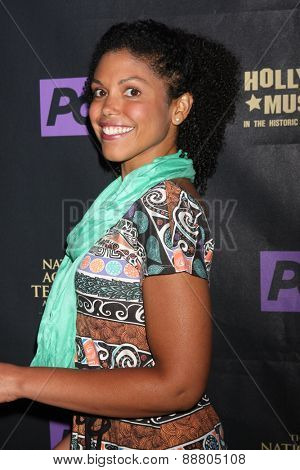 LOS ANGELES - April 21:  Karla Mosley at the  2015 Daytime EMMY Awards Kick-off Party at the Hollywood Museum on April 21, 2015 in Hollywood, CA