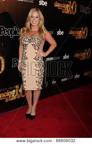 LOS ANGELES - April 21:  Sabrina Bryan at the