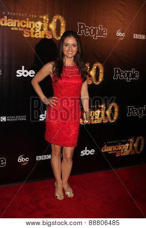 LOS ANGELES - April 21:  Danica McKellar at the