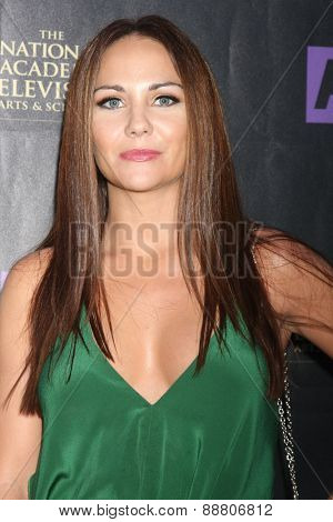 LOS ANGELES - April 21:  Jade Harlow at the  2015 Daytime EMMY Awards Kick-off Party at the Hollywood Museum on April 21, 2015 in Hollywood, CA