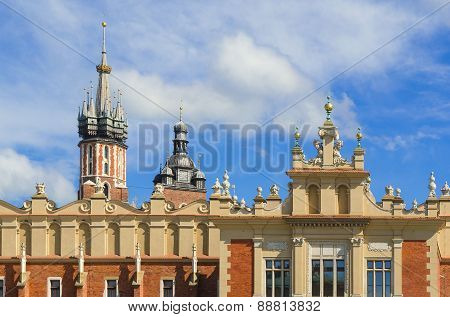 Old town in Cracow.