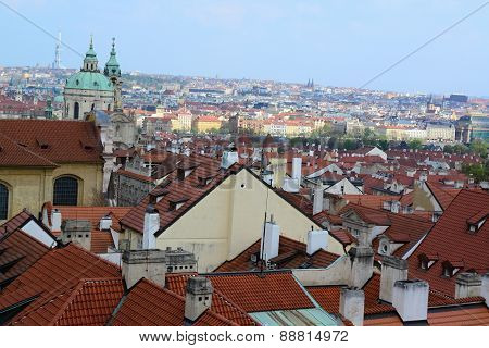Roofs From Prague Castle