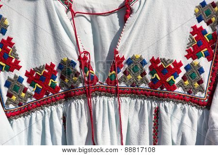 Old Romanian traditional costume