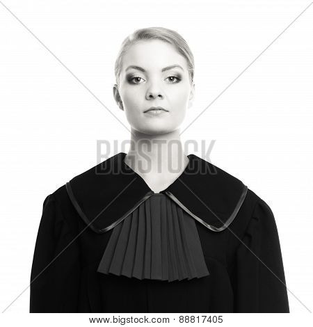 Woman Lawyer Attorney Portrait