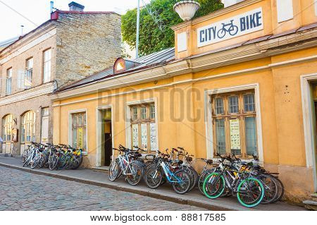 Bicycle Rental In Old Part Tallinn - Estonian Capital