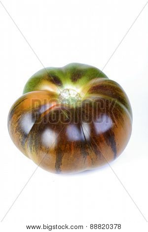 Close up of black tomatoes
