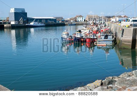 Howth Harbor, Dublin,ireland